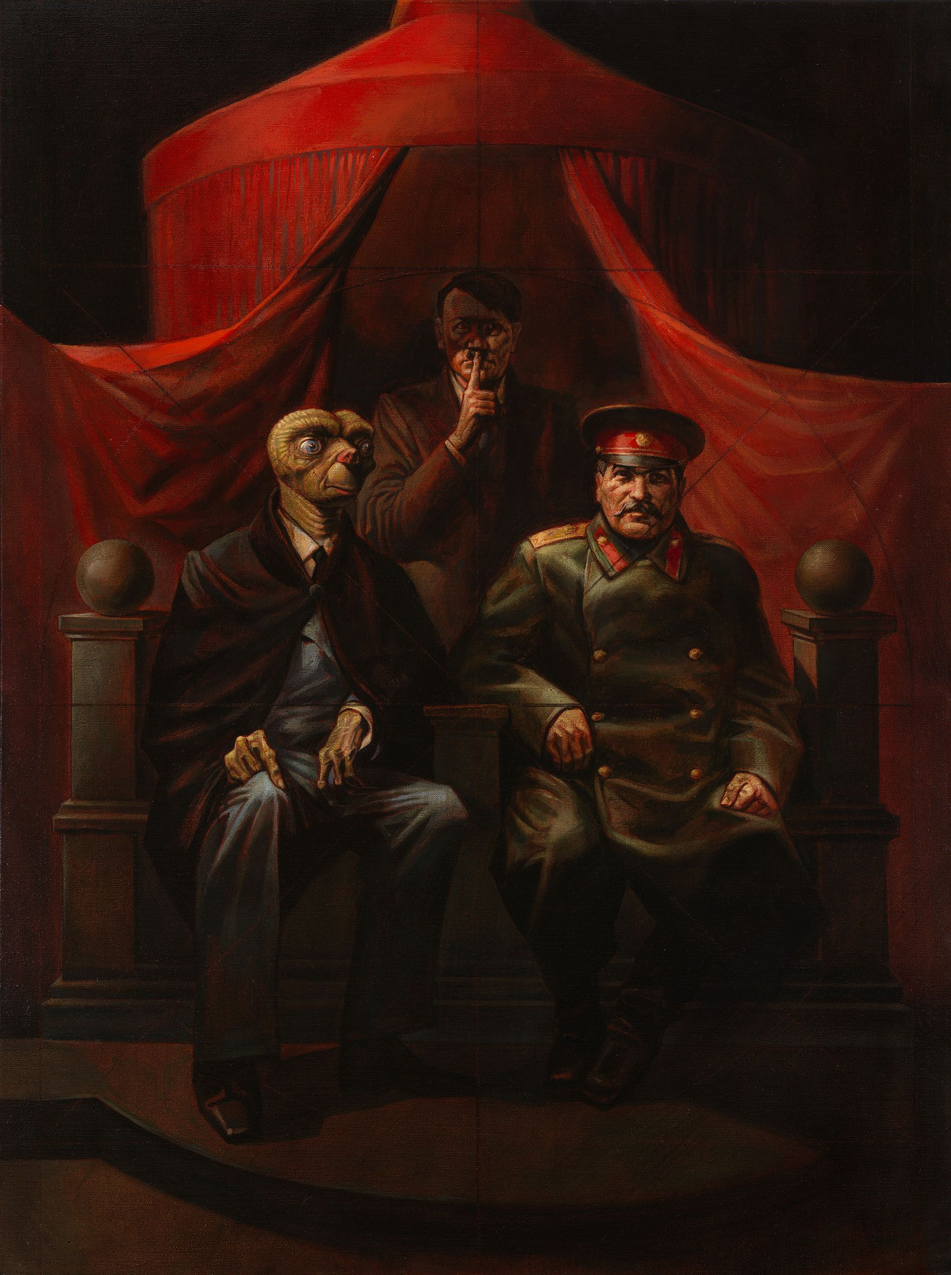 Lot 173, Vitaly Komar, Alexander Melamid, Yalta Conference