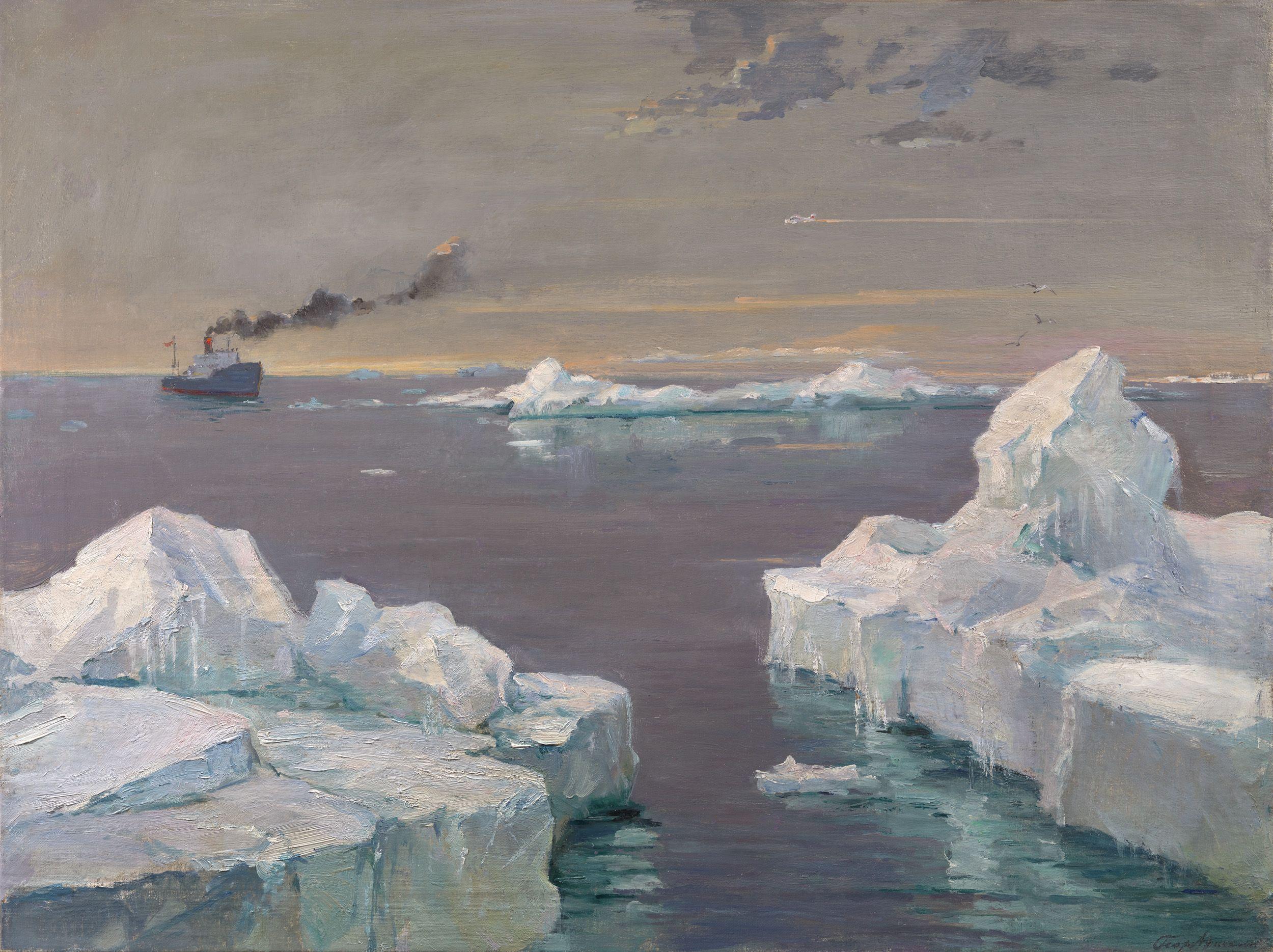 Lot 23, Georgy Nissky, Icebergs