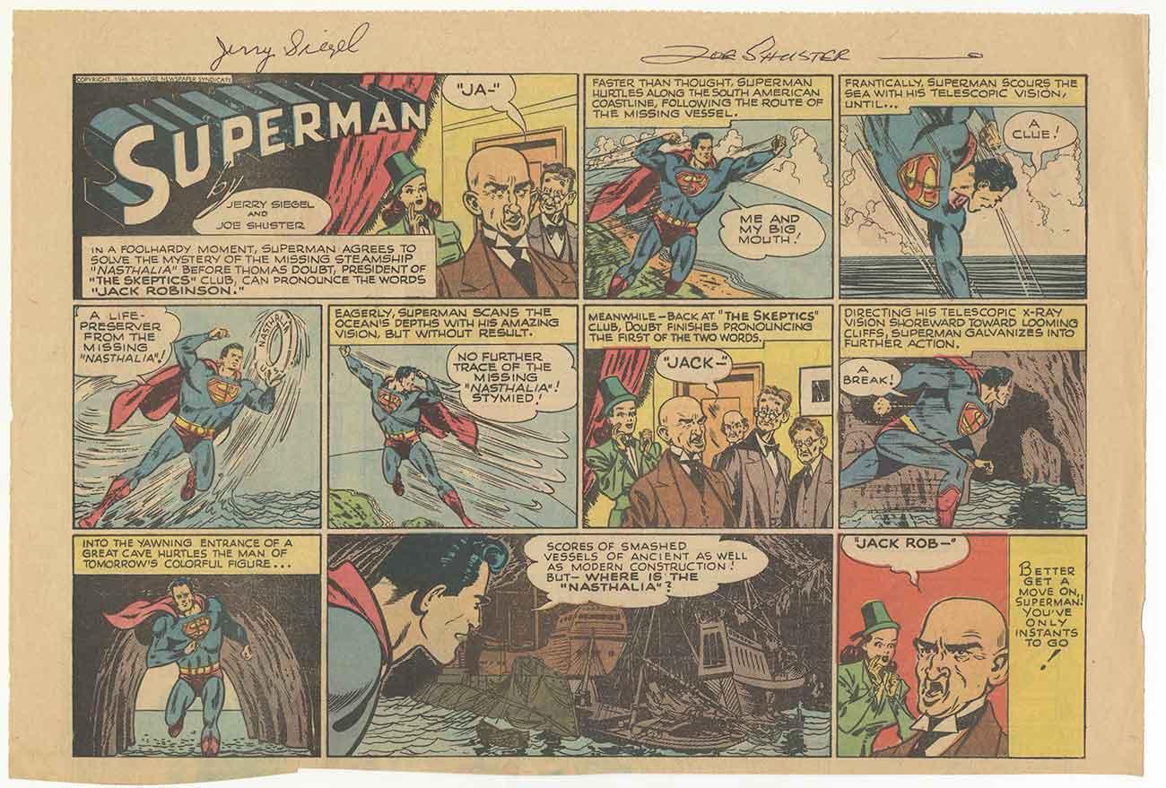Почему изобретатели Супермена прожили в бедности
