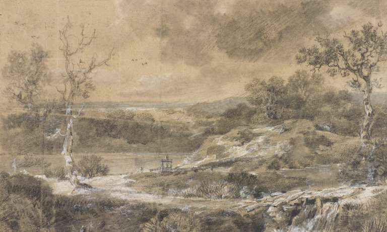 Десятки-ранее-неизвестных-рисунков-Томаса-Гейнсборо-обнаружены-в-библиотечной-книге