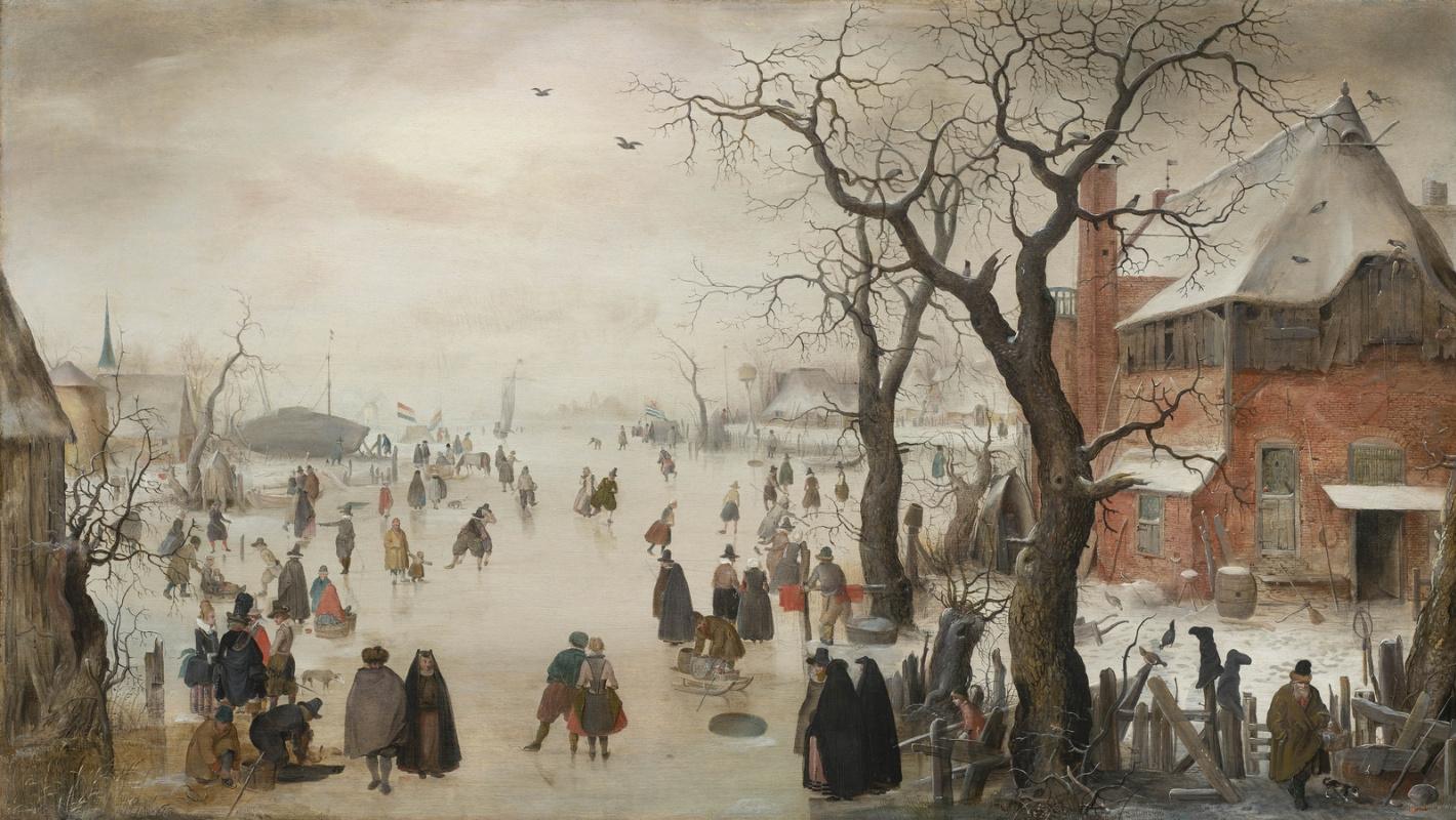 голандское искусство зима