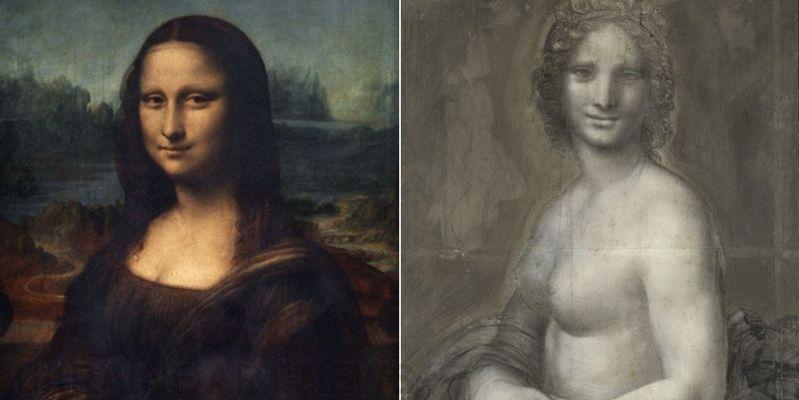 Ескіз оголеної «Мони Лізи» Леонардо да Вінчі виявили уФранції