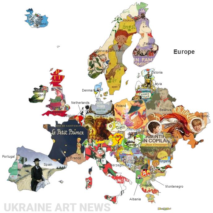 Українська книга ввійшла всписок найкращих книг Європи
