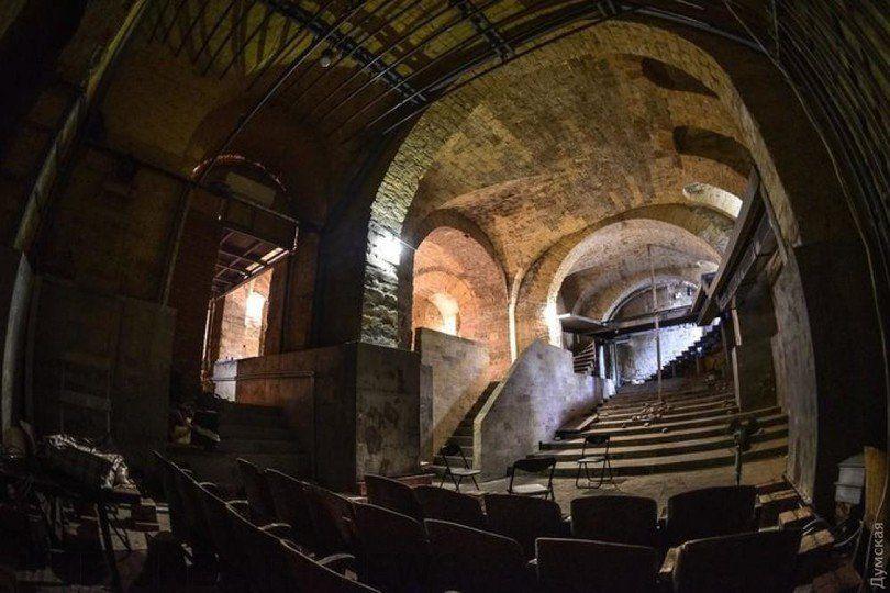 ВОдесі створили перший вУкраїні підземний театр
