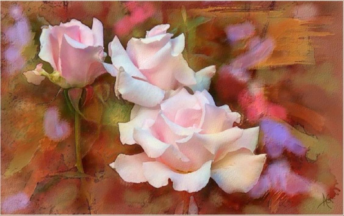 цветы акварель7